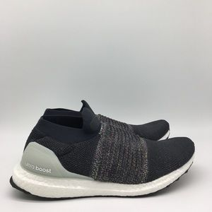 Adidas Ultraboost Laceless Carbon Solid Grey